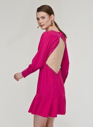 Nenuphar Atelier Elbise Fuşya